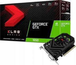 Karta graficzna PNY Technologies GeForce GTX 1650 XLR8 Gaming OC 4GB GDDR5 (VCG16504SFPPB-O)