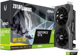 Karta graficzna Zotac GAMING GeForce GTX 1660 AMP! Edition, 6GB GDDR5 (ZT-T16600D-10M)