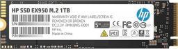 Dysk SSD HP EX950 1TB, M.2 PCIe Gen3 x4 NVMe (5MS23AA#ABB)
