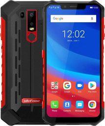 """Smartfon UleFone Armor 6 (6,2""""; 2246×1080; 128GB; 6GB; kolor czerwony )"""