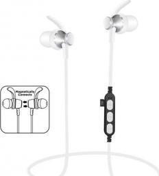 Słuchawki Freestyle PLATINET IN-EAR BLUETOOTH V4.2 + microSD SPORT  EARPHONES + MIC PM1060 SILVER [44466]