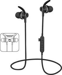 Słuchawki Freestyle PLATINET IN-EAR BLUETOOTH V4.2 + microSD SPORT  EARPHONES + MIC PM1060 BLACK [44462]
