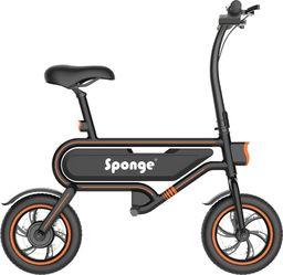 Sponge Rower elektryczny City 12'' czarno-pomarańczowy