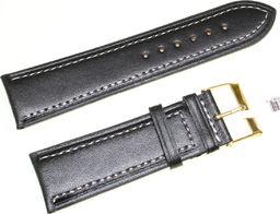 JVD Skórzany pasek do zegarka 24 mm JVD R18901-24-G uniwersalny