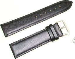 JVD Skórzany pasek do zegarka 22 mm JVD R17401-22 uniwersalny