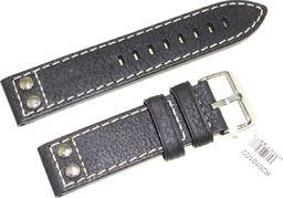 JVD Skórzany pasek do zegarka 22 mm JVD R20101-22 uniwersalny