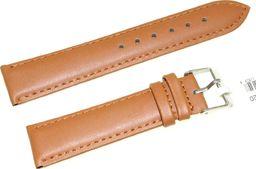 JVD Skórzany pasek do zegarka 20 mm JVD R17403-20 uniwersalny