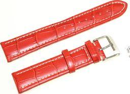 JVD Skórzany pasek do zegarka 20 mm JVD R14507-20 uniwersalny