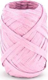 Party Deco Wstążka ozdobna rafia, jasnoróżowa, 10 m uniwersalny