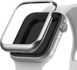 Rearth Nakładka Ringke Bezel Styling do Apple Watch 4 44mm Glossy Silver  uniwersalny