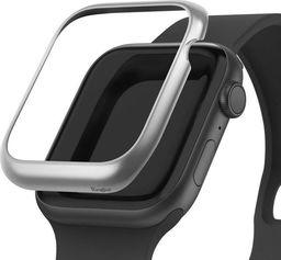 Rearth Nakładka Ringke Bezel Styling do Apple Watch 4 44mm Matte Silver uniwersalny