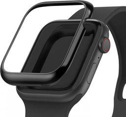 Rearth Nakładka Ringke Bezel Styling do Apple Watch 4 44mm Glossy Black uniwersalny