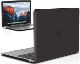 Etui Alogy Etui Alogy Hard Case crystal do Apple MacBook Air 2018 13 czarne uniwersalny