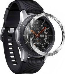 Rearth Nakładka na tachymetr Ringke Bezel do Galaxy Gear S3 /Watch 46mm Silver  uniwersalny