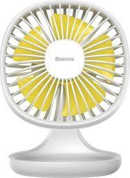 Wentylator USB Baseus Pudding-Shaped żółty (6953156289079)