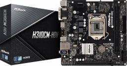 Płyta główna ASRock H310CM-HDV (90-MXB8J0-A0UAYZ)