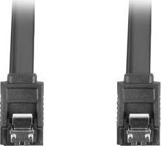 Lanberg CA-SASA-14CU-0030-BK (SATA III M - SATA III M; 0,30m; kolor czarny)