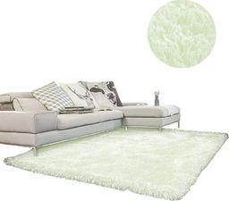 Dywan - Living Room Shaggy 120x160 - White uniwersalny