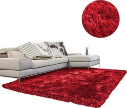 Dywan - Living Room Shaggy 100x150 - Red uniwersalny