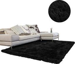 Dywan - Living Room Shaggy 100x150 - Black uniwersalny