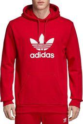 Adidas Bluza męska Originals Trefoil Hoodie czerwona r. L (DX3614) ID produktu: 6050922