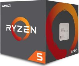 Procesor AMD Ryzen 5 2600X, 3.6GHz, 16 MB, Bulk (YD260XBCM6IAF)