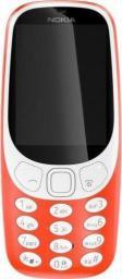 Telefon komórkowy Nokia 3310 Single Sim czerwony (TELAOTELNOK00003)