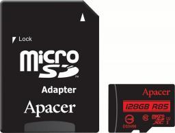 Karta MicroSD Apacer 128 GB Class 10, UHS-I (AP128GMCSX10U5-R)