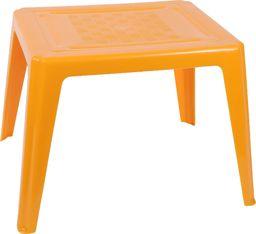 Oler plastikowy stolik dla dzieci, pomarańczowy (11520370)