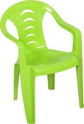 Oler plastikowe krzesło dla dzieci Tola, zielone (11520358)