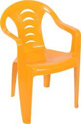 Ołer Garden plastikowe krzesło dla dzieci Tola, pomarańczowe (11520298)