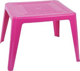 Oler plastikowy stolik dla dzieci, różowy (11520412)
