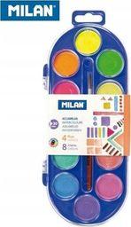 Milan Farby akwarelowe 12 kolorów MILAN
