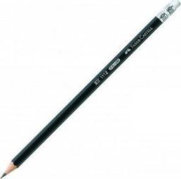 Faber-Castell Ołówek 111/HB z gumką (12szt) FABER CASTELL