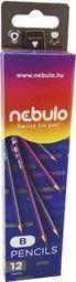 Nebulo Ołówek B (12szt) NEBULO
