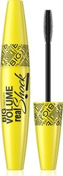 Eveline Tusz do rzęs Big Real Shock Black 10ml