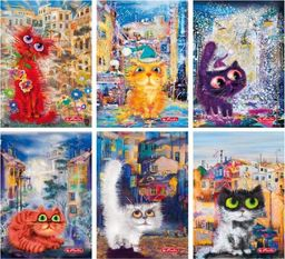 Herlitz Zeszyt A5/60K linie PP Crazy cats (5szt) (326988)