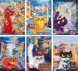 Herlitz Zeszyt A5/60K kratka PP Crazy cats (5szt) (326984)