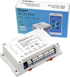 Sonoff 4CH PRO R2 z czujnikiem RF, przekaźnik Wi-Fi