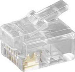 MicroConnect Wtyk modułowy RJ12, 10szt. (KON502-10R)