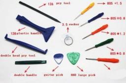 Narzędzia serwisowe MicroSpareparts Mobile 12 Pieces Opening Tool Set