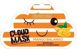 Bielenda Maseczka do twarzy Cloud Mask Bąbelkująca Mango Balango energizująca 6g