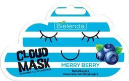 Bielenda Maseczka do twarzy Cloud Mask Bąbelkująca Merry Berry detoksykująca 6g