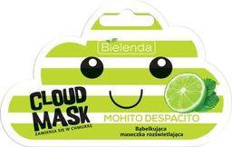 Bielenda Maseczka do twarzy Cloud Mask Bąbelkująca Maseczka Mohito Despacito rozświetlająca 6g