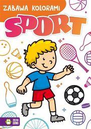 Zabawa kolorami. Sport