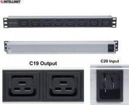"Intellinet Network Solutions Intellinet listwa zasilająca PDU 1U do szaf rack 19"""