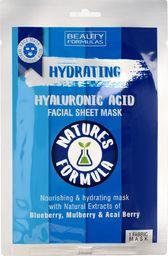 Beauty Formulas Maseczka do twarz Natures Formulas Hydrating nawilżająca