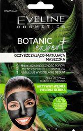 Eveline Maseczka do twarzy Botanic Expert 3w1 Aktywny Węgiel oczyszczająco-matująca 2x5ml