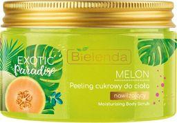 Bielenda Exotic Paradise Peeling cukrowy do ciała nawilżający Melon 350g