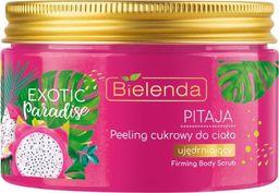 Bielenda Exotic Paradise Peeling cukrowy do ciała ujędrniający Pitaja 350ml